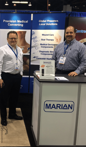 Marian Inc Booth at MD&M