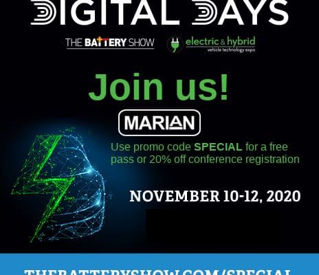 Join Us at the Virtual Battery Expo