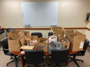 PCRHS Food Pantry Donations